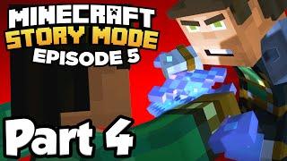 Minecraft: Story Mode [Episode 5] Part 4 - BATTLE FOR SKYBLOCK SKY CITY!!! (Full Gameplay)