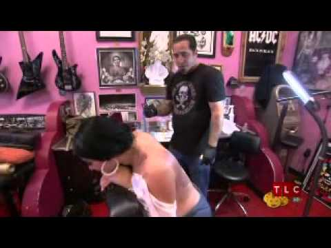 Elke The Stallion on LA INK
