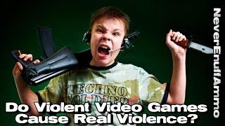 Violent Video Games Cause Real Violence?