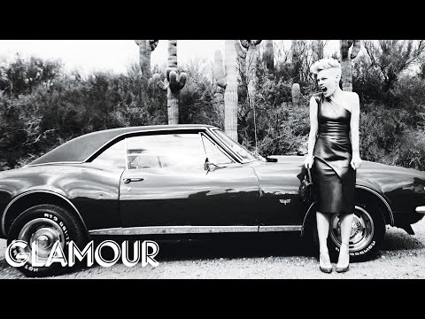"Pink Plays ""Desert Island"" with us at her June 2013 Glamour Cover-Shoot"