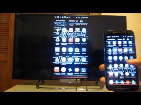 Como ver la pantalla de Android en la Tv SIN aplicaciones.cables.wifi o chromecast gratis! 2015