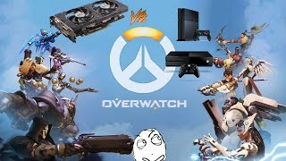 Can The R7 370 a 100 dollar GPU play Overwatch better than a console?!
