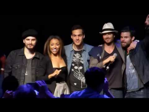 Full Final Panel (Ian Somerhalder / Michael Malarkey etc.) at Bloody Night Con Brussels