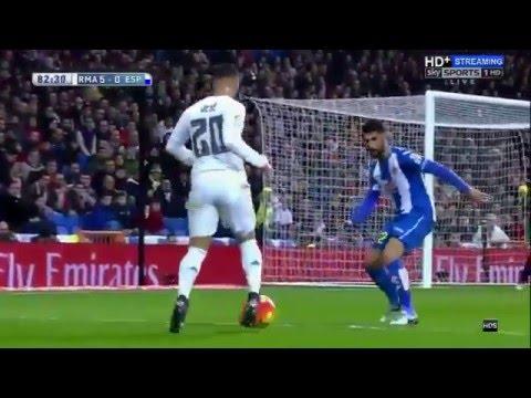 Real Madrid vs Espanyol 6-0 All Goals