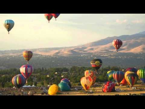 Reno Balloon Races, Downtown Reno activities, recreation in Reno Nevada