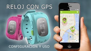Wonlex Q50 reloj con gps y llamadas. Funcionamiento y configuración.
