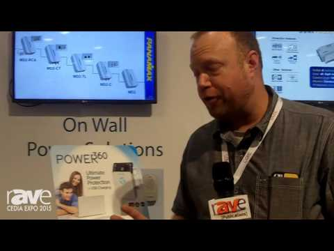 CEDIA 2015: Panamax Features Full Line of Power Protection Products and Power360