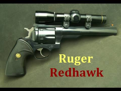 "Ruger Redhawk   The ""Hand Cannon"""