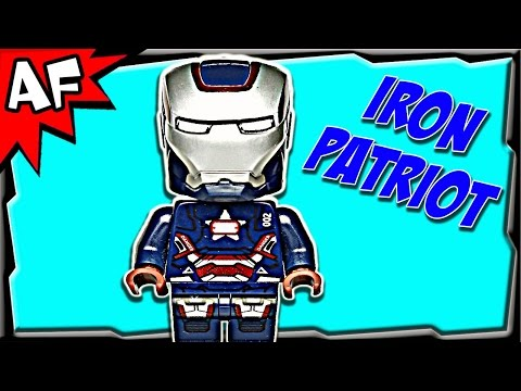 IRON PATRIOT Minifigure 30168 Lego Marvel Super Heroes Review