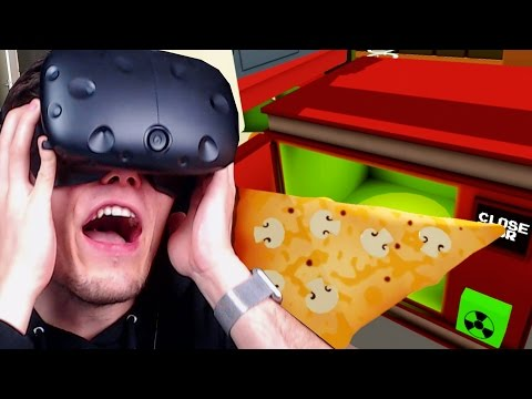 VERSEUCHTE PIZZA AUS DER MIKROWELLE ✪ JOB SIMULATOR Virtual Reality