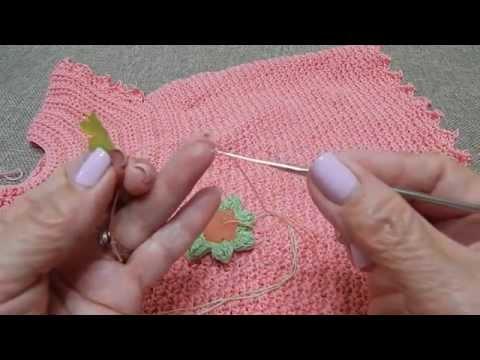 Vestido para Niña 6-12 meses Facil Crochet