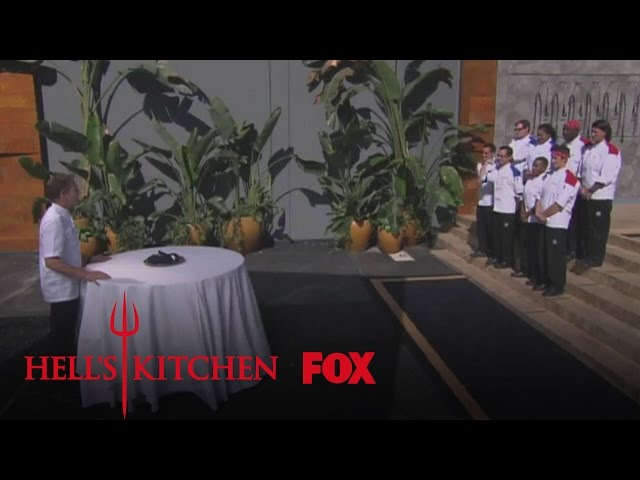 """Sink Or Swim from """"8 Chefs Compete""""   HELL'S KITCHEN   FOX BROADCASTING"""