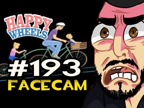 Happy Wheels w/Nova Ep.193 FACECAM - THE IRRESPONSIBLE MOM *NEW CHARACTER*