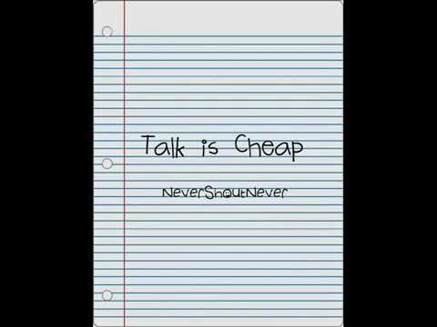 Never Shout Never - Talk Is Cheap