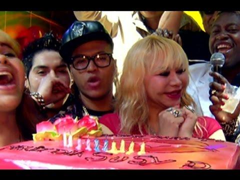 Susy Díaz celebró sus 51 años y la gran ausente fue Florcita Polo