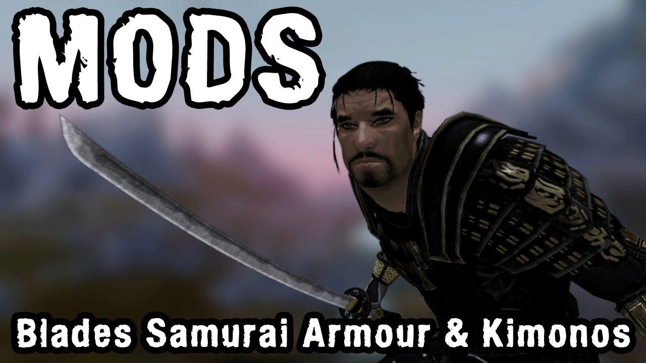Skyrim Blades Armor Mod Skyrim Mod Blades Samurai