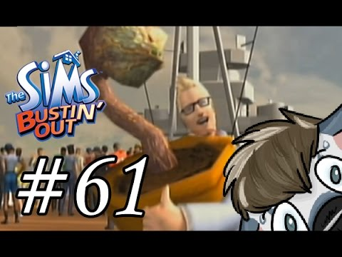 The Sims Bustin' Out Playthrough 100% - Part 61 - Malcolm's Mansion
