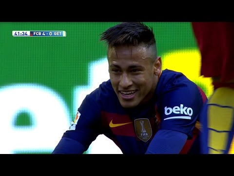 Neymar vs Getafe (H) 15-16 – La Liga HD 1080i by Guilherme