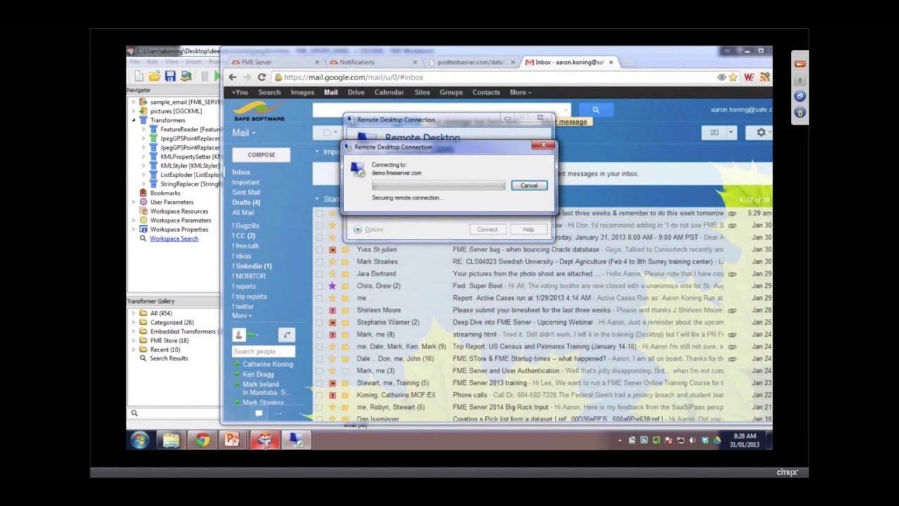 FME does non-spatial data too! 320 просмотров. 3D Pilot NL 2012 Safe Soft