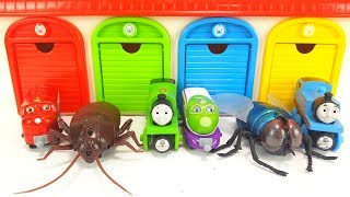 Iron Man, Tayo the little bus Garage Toy, Fly Monster, Thomas & Chuggington Wooden toys