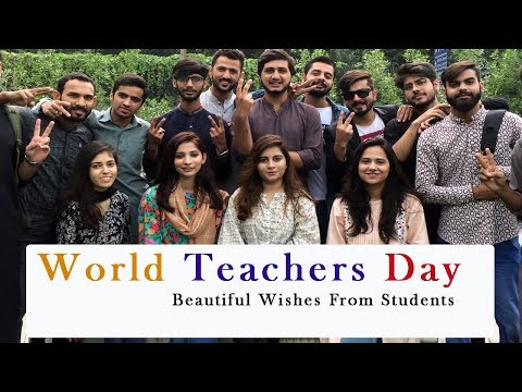 World Teachers Day || Beautiful Wishes From Students