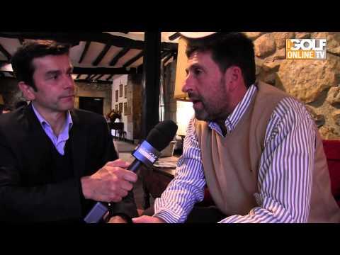 iGOLF : Interview José-Maria Olazabal à Fontarrabie
