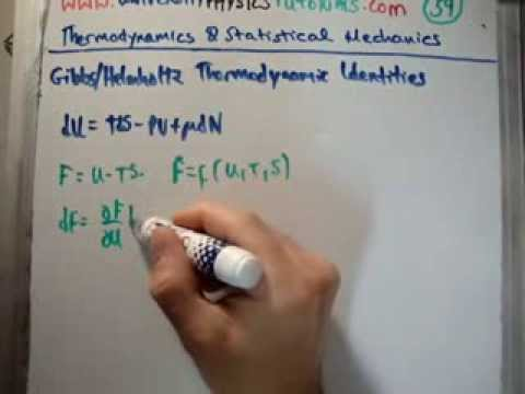 thermodynamics by coursera Video created by university of minnesota for the course statistical molecular thermodynamics this last module rounds out the course with the introduction of new state functions, namely, the helmholtz and gibbs free energies the relevance of.