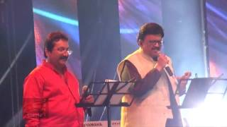 SPB 50 Grand Musical Tour in Toronto - Mano and S. P. B. sing Eduthu Naan Vidava