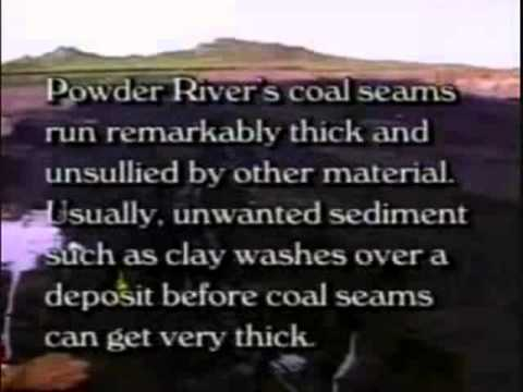 Catastrophic Coal Formation - Powder River Basin