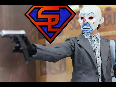 The Dark Knight Hot Toys The Joker Bank Robber 2.0 Movie Masterpiece 1/6 Scale Figure Review