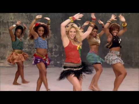 Waka Waka Spanglish - South Africa Version - Shakira & Fleshyground...