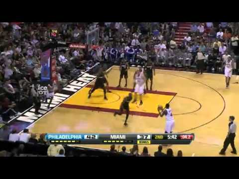 NBA CIRCLE - Philadelphia 76ers Vs Miami Heat Highlights 8 March 2013 www.nbacircle.com