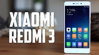 Xiaomi Redmi 3, review en español