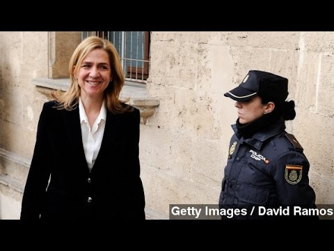 Spain's Princess Cristina To Face Unprecedented Fraud Trial