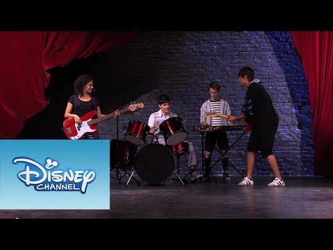 Violetta: Momento Musical Dile que sí Ensayo final para el show