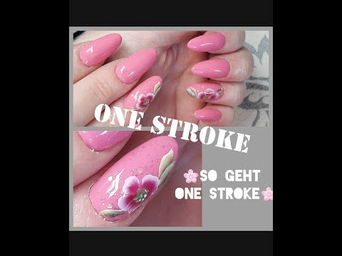 SO easy geht ONE STROKE / Anleitung Step by Step