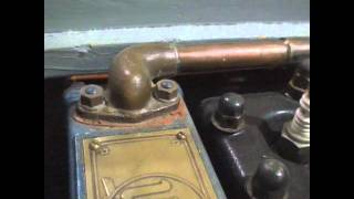 Early Inboard Outboard Universal Blue Jacket Engine