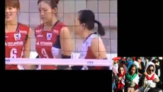 والیبال دختران ایران با کره جنوبی site