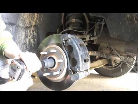 2010 Chevy Silverado CV axle replacement
