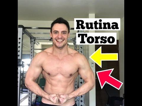 La mejor rutina de pesas para torso - Aumenta Músculo