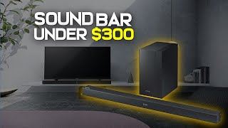 10 Best Soundbar 2019 - Under $300 Inexpensive TV Sound Bar Reviews
