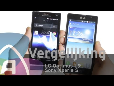 LG Optimus L9 vs Sony Xperia S review (Dutch)