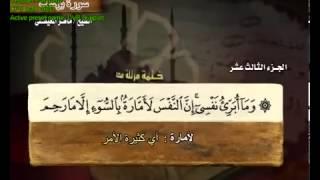 سورة يوسف بصوت ماهر المعيقلي مع معاني الكلمات Yusuf