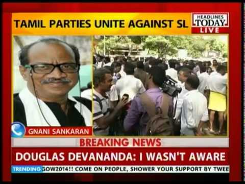 Tamil parties rally behind Jaya