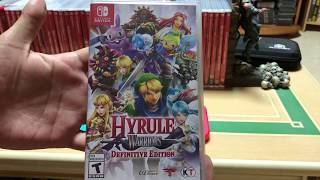 Hyrule Warriors Definitive Edition for Nintendo Switch Unboxing!