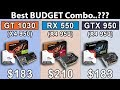 Download GT 1030 OC  vs  RX 550 OC  vs  GTX 950 OC | AMD X4 950 | Which is Best Budget Combo..?? in Mp3, Mp4 and 3GP