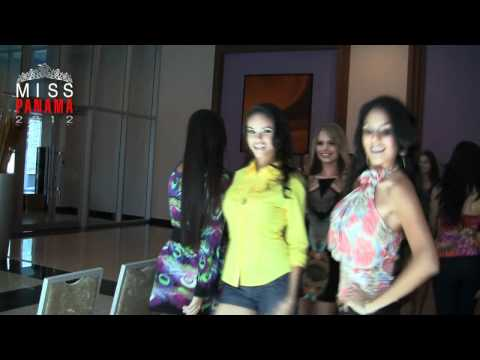 Cuarto Ensayo Preliminar Miss Panamá 2012