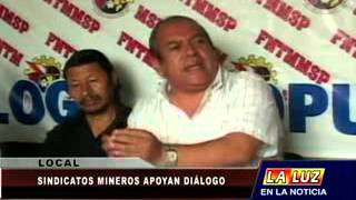 Sindicatos mineros apoyan diálogo entre Doe Run y Gobierno