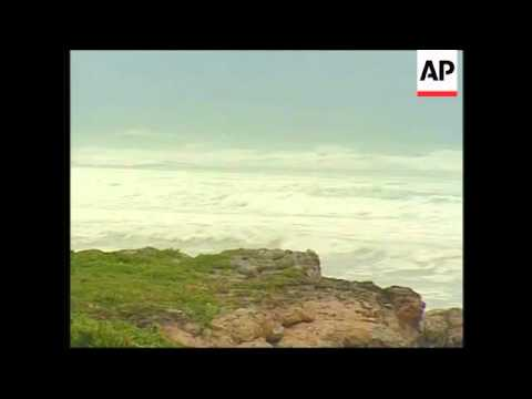 Rough seas, high winds, preps as storm roars across Caribbean