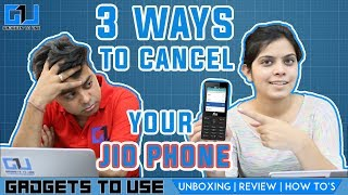 3 Ways To Cancel JIO Phone Booking, Also What To Do If You Cant Cancel & Surprise